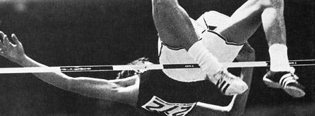 Richard Fosbury revolutionerade höjhoppet på 1960-talet när han introducerade floppstilen.