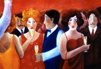 målning av Pernilla Strappe